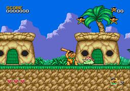 The Flintstones для Sega Mega Drive 2