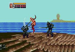 Golden Axe 3 для Sega Mega Drive 2