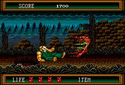 Splatterhouse 2 для Sega Mega Drive 2