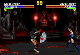 Ultimate Mortal Kombat 3 для Sega Mega Drive 2